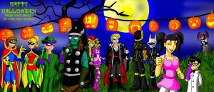 Halloween party 09 by Razmere