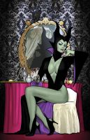 Maleficent Goes Madison Avenue by co4