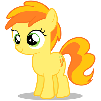 Peachy Pie Vector by TizerFiction