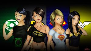 My Legend version of the DC World by Flapkac