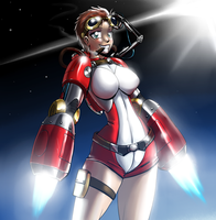 Rocket Girl by Marauder6272