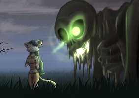 Zoom Out, Skeleton Pan to the Right. by StarWarriors