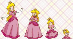 Peach age regression by 123phinabellaa