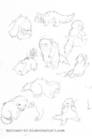Little Critter drawings by Inkblot-Rabbit