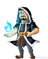 Clash of Clans Chad by koeb