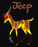 Jeep the Sparkle Deer by barish-ki-boond