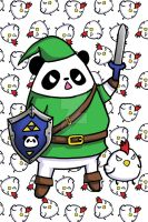 The Legend of Panda Link by Panduhmonium