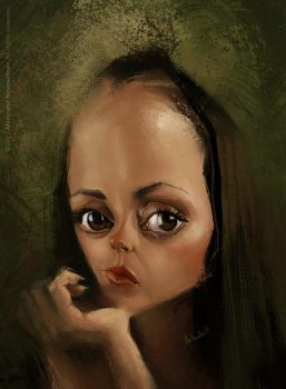 Christina Ricci by creaturedesign