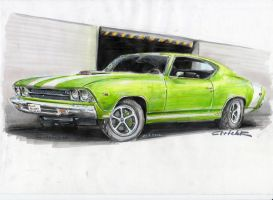 Chevelle with drawing movie by HorcikDesigns