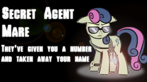 Secret Agent Mare Wallpaper by SailorTrekkie92