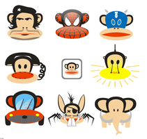 Paul Frank's Monkey Battle by antonist