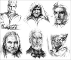 SW Characters: Prequels by Callista1981