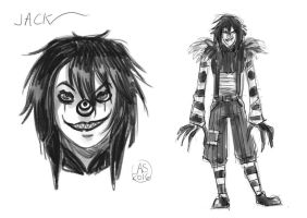SKETCH Laughing Jack by Freak-Candy