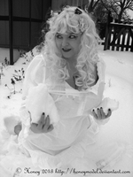 Snow Angel 5 by honeyhalliwell