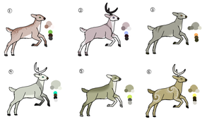 Deer Adopts .:OPEN:. by leafclan99