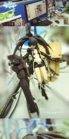MAX figma Black  RockShooter THE GAME BRS2035 by el-zheng