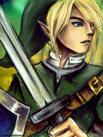 Link Legend of Zelda - SSBB - by AStudyInScarlet