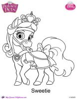 Princess PalaceSweetie coloring Page SKGaleana img by SKGaleana