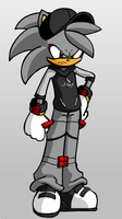 Jay the Hedgehog by ChronoKix