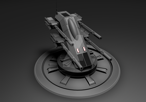 AA Turret 02 by Prototype516