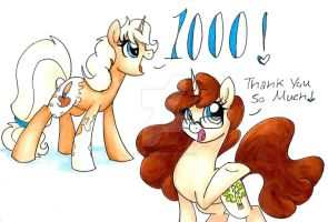 1000 Watchers by PitterPaint