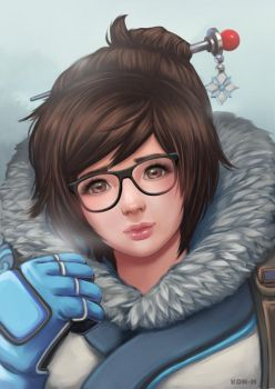 Overwatch Mei by Kon-H