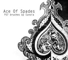 Brush - Ace Of Spades by eunoiastock