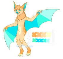 bat anthro -OTA CLOSED- by WhiteTieAdopts