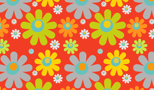 Free Photoshop Flower Pattern by pinkonhead