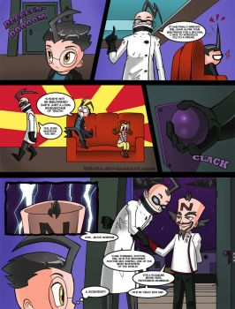 Invader Zim: Conqueror of Nightmare Page 10 by Blhite