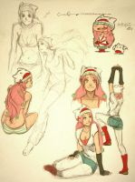 Annie Mei sketches by dCTb