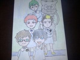 Ao no Exorcist Childhood by BlackHearts97