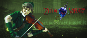 Lindsey Stirling Zelda Medley Green by vhesketh