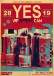 """YES WE +SPRAY+ CAN"" - Flyer by ALilZeker"