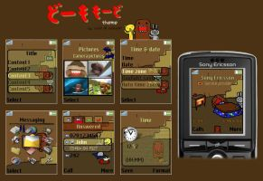 Domokun theme for K750 by cafe-cartel