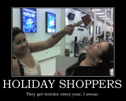 Holiday Shoppers by Viper-X27