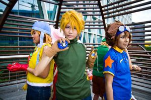 Digimon Adventure - Yamato by hana-bira