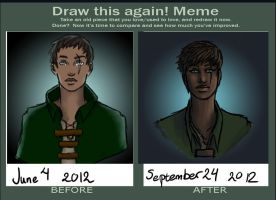Draw this again Skyrim character by 1magi11