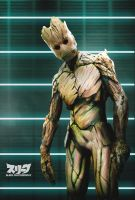 I AM GROOT by sleekpixels