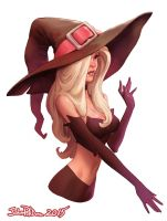 Sexy Witch! by NorseChowder