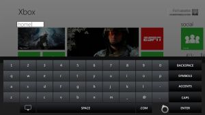 Xbox 720 concept: Section Rename by Ohsneezeme