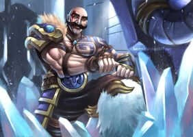 You're safe with Braum by Fuuzanki