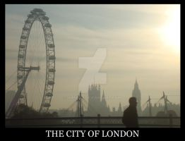 The City of London by virunee