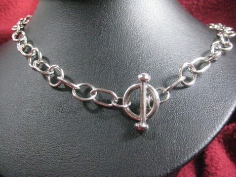 Hand Made Chain in Sterling by metaltamer