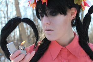Don't Starve Willow Cosplay 2 by Fennec777