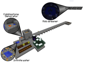 My Skyblock part 1 by link6155