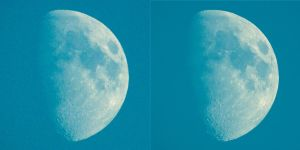 Moon - Lucky Imaging comparison - Day by MaxArceus