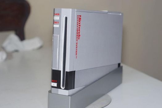 Wii skin old school NES design by jaruworks
