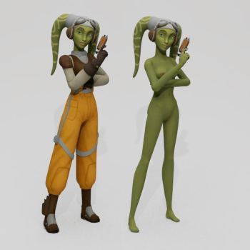 Hera is not amused by habariart