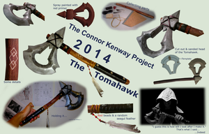 The Kenway Project - Progress 2 : The Tomahawk by modecom1